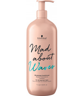 Schwarzkopf Professional Mad About Waves windswept conditioner (1000ml)