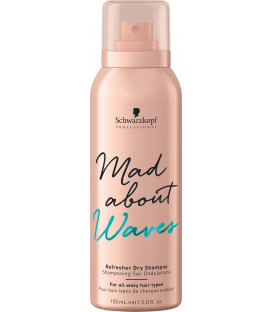 Schwarzkopf Professional Mad About Waves sausais šampūns