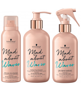 Schwarzkopf Professional Mad About Waves set