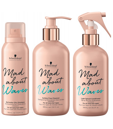 Schwarzkopf Professional Mad About Waves komplekts