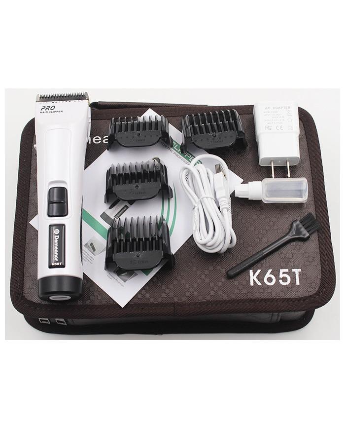 Demeanor K65T bezvaadu matu griešanas mašīnīte