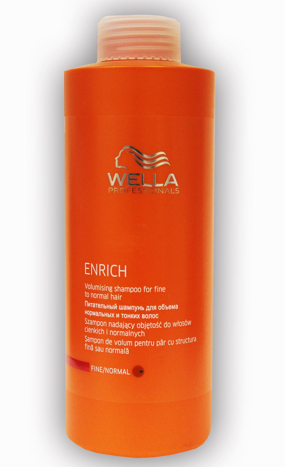 wella professionals enrich volumising fine shampoo 1000ml. Black Bedroom Furniture Sets. Home Design Ideas