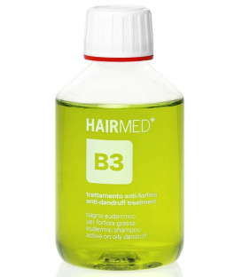 Hairmed B3 Eudermic Shampoo For Oily Dandruff šampūns (200ml)