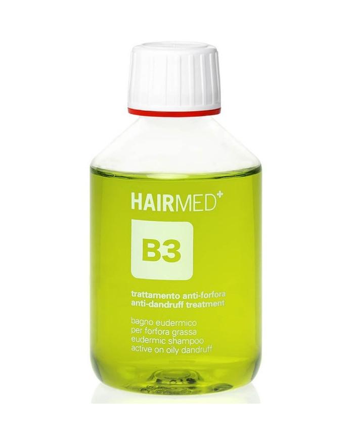 Hairmed B3 Eudermic Shampoo For Oily Dandruff šampūns taukainām blaugznām
