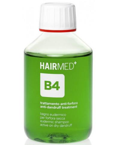 Hairmed B4 Eudermic Shampoo Active On Dry Dandruff šampūns sausām blaugznām
