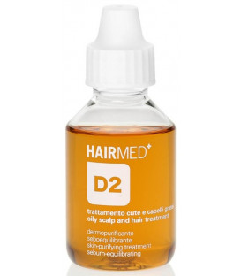 Hairmed D2 Skin Purifying Treatment Sebum Equilibrating And Antioxidant Action līdzeklis galvas ādai