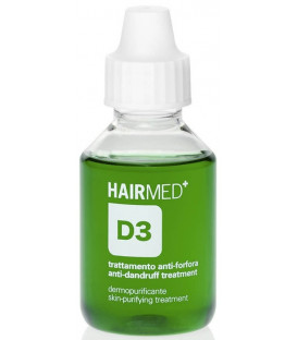 Hairmed D3 Anti Dandruff Skin Purifying Treatment pretblaugznu līdzeklis