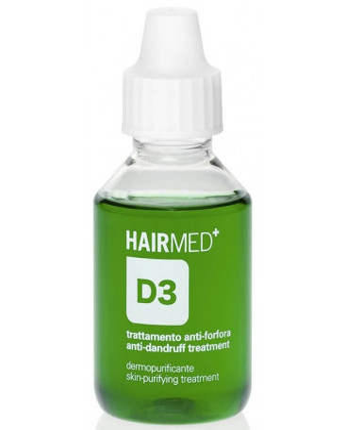 Hairmed D3 Anti Dandruff Skin Purifying Treatment pretblaugznu līdzeklis