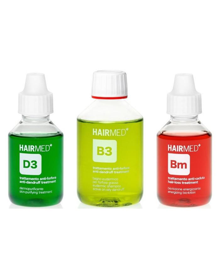 Hairmed Synergy Balance D3 B3 Bm pretblaugznu komplekts