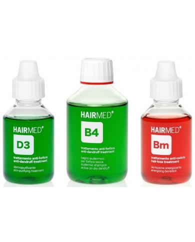 Hairmed Synergy Purity D3 B4 Bm komplekts sausām blaugznām