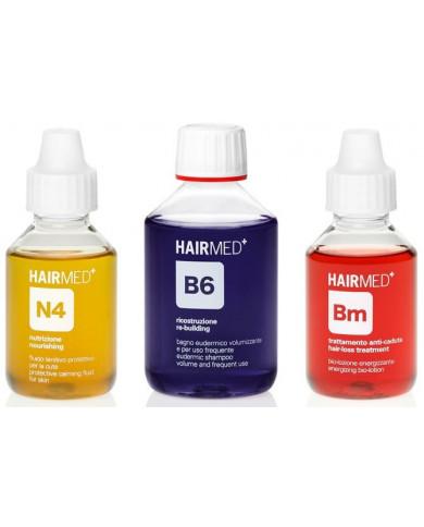 Hairmed Synergy Relief N4 B6 Bm rinkinys plaukams