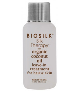 Biosilk Silk Therapy Organic Coconut Oil несмываемый уход (15мл)