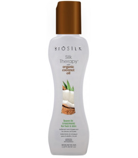 Biosilk Silk Therapy Organic Coconut Oil leave-in treatment (67ml)