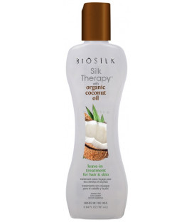 Biosilk Silk Therapy Organic Coconut Oil leave-in treatment (167ml)