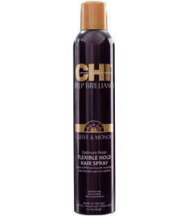 CHI Deep Brilliance Flex & Hold hairspray (284g)