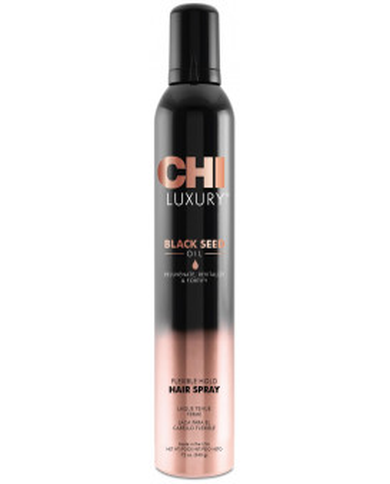 CHI Luxury Black Seed Oil elastīgas fiksācijas matu laka
