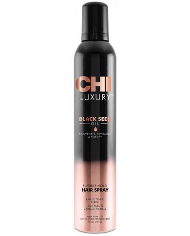 CHI Luxury Black Seed Oil лак для волос эластичной фиксации