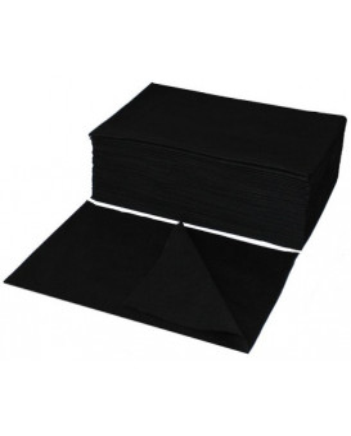 Eko-Higiena BLACK perforated towels (70x40)