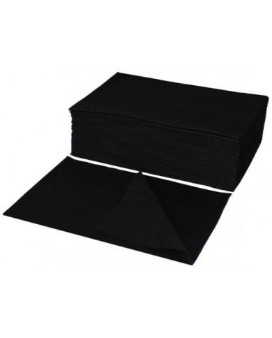 Eko-Higiena BLACK perforētie dvieļi (70x40)