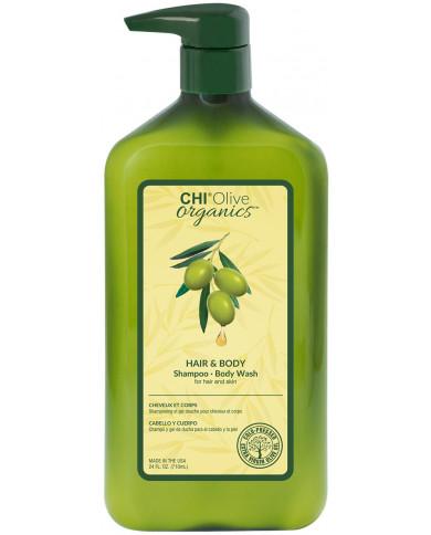CHI Olive Organics šampūns  (340ml)