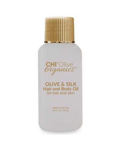 CHI Olive Organics olīvu un zīda eļļa (15ml)