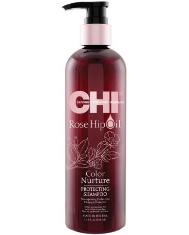 CHI Rose Hip Oil šampūns (340ml)
