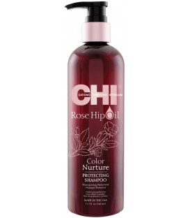 CHI Rose Hip Oil shampoo (340ml)
