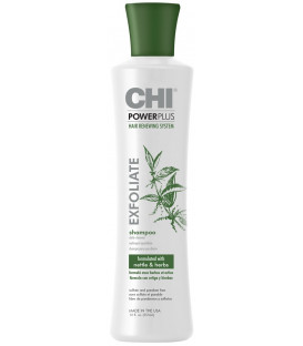 CHI POWERPLUS Exfoliate shampoo (355ml)