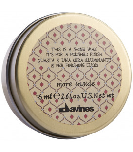 Davines More Inside this is a shine wax vasks spīdumam