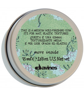 Davines More Inside this is a medium hold finishing gum matu pasta