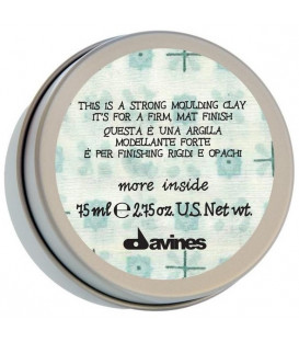 Davines More Inside this is a strong moulding clay моделирующая глина