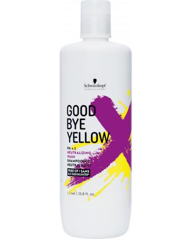 Schwarzkopf Professional Goodbye Yellow shampoo (300ml)