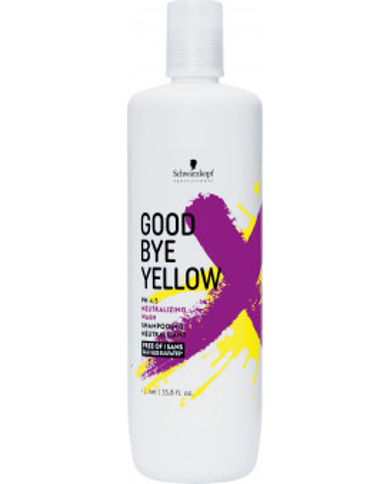 Schwarzkopf Professional Goodbye Yellow шампунь (300мл)