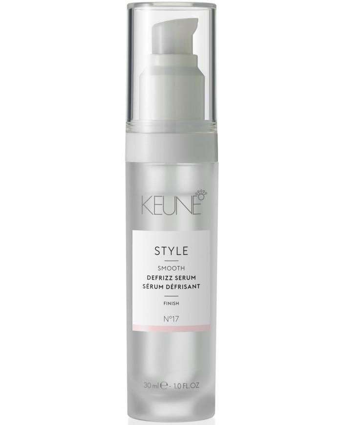 Keune Style No17 Defrizz Serum serums