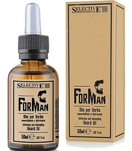 Selective For Man beard oil