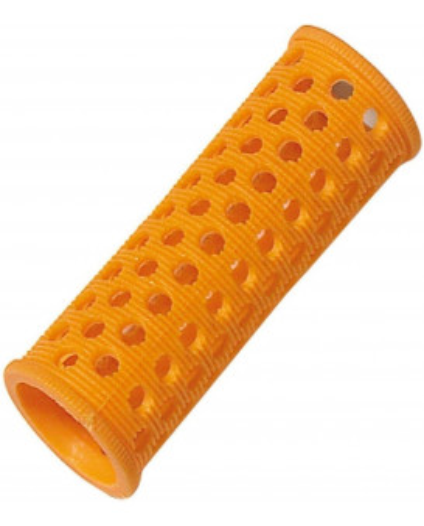 Comair plastmasas matu ruļļi (22mm-oranža)