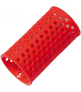 Comair plastic wave curlers (red-35mm)
