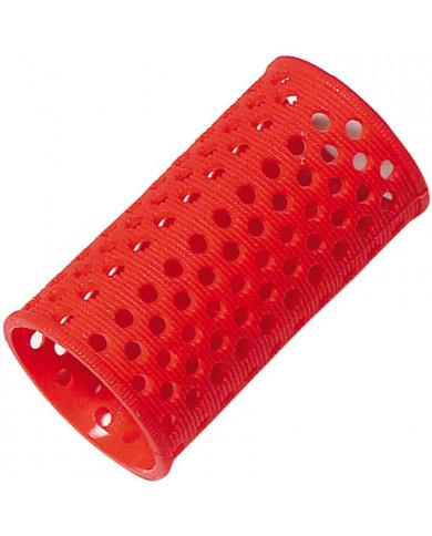 Comair plastmasas matu ruļļi (35mm-sarkana)