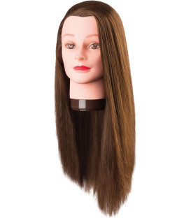 Comair Pro-H Pia training head with protein, long hair