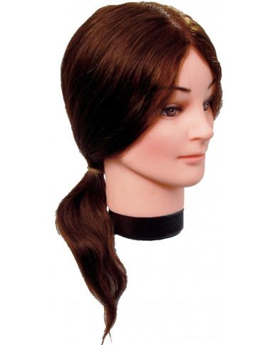 Efalock Elvira manekens ar dabīgiem, vidēji gariem matiem