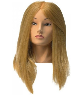 Sibel Jessica practice head with long synthetic hair