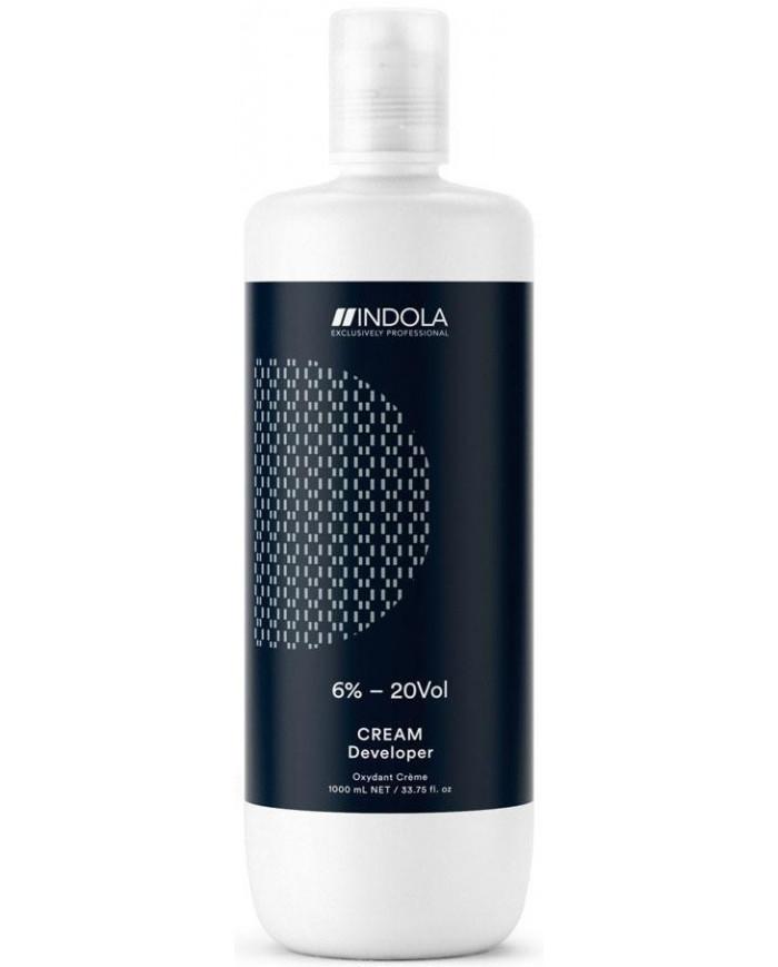 Indola Profession Cream Developer krēmveida oksidants (1000ml)