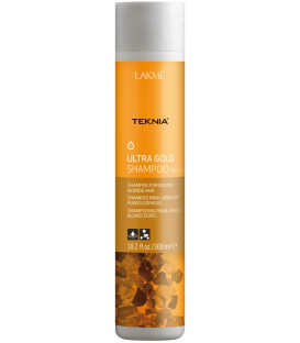 Lakme TEKNIA Ultra Gold shampoo (300ml)