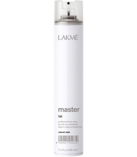 Lakme MASTER Natural Style hairspray (500ml)