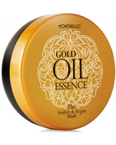 Montibello Gold Oil Essence The Amber & Argan kaukė (200ml)