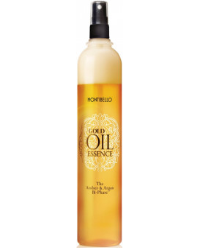 Montibello Gold Oil Essence The Amber And Argan Bi-Phase atjaunojošs līdzeklis
