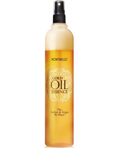 Montibello Gold Oil Essence The Amber And Argan Bi-Phase восстановитель волос