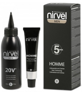 Nirvel Professional MEN HOMME Hair Colouring Cream краска для мужчин