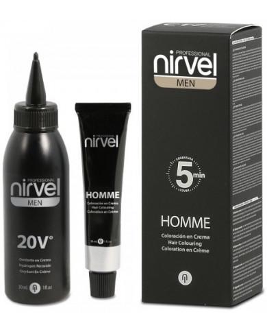 Nirvel Professional MEN HOMME Hair Colouring Cream