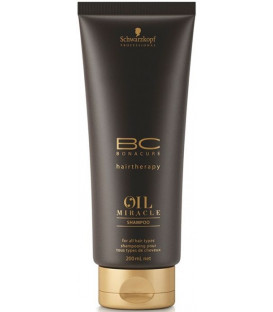 Schwarzkopf Professional Bonacure Oil Miracle Argan Oil šampūns (200ml)